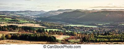 -, paysage, brexit, économie, central, affect, écossais, ...