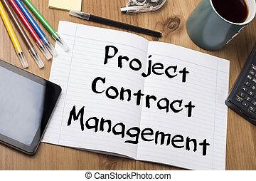 -, pcm, projet, tampon, gestion, contrat, texte, note