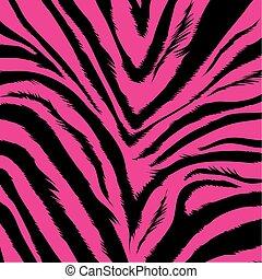 -, pelliccia, zebra, fondo