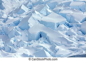 -, península, porto, geleira, antártica, antárctico, neko