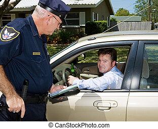 -, policía, borracho, conductor, culpable