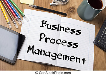 -, processus, tampon, gestion, business, bpm, texte, note