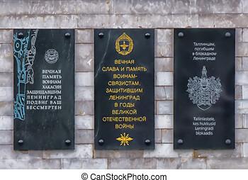 -, rusia, piskaryovskoye, 07.09.2015, cementerio, saint-...