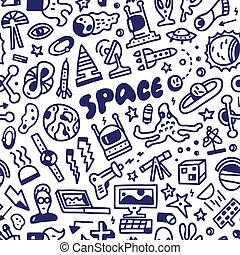 -, seamless, achtergrond, ruimte