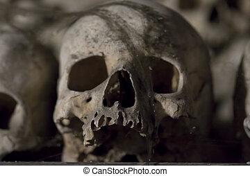 -, sedlec, ossuary, charnel-house