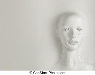 -, ser, humano, inteligencia, artificial, concepto