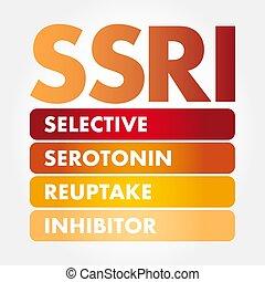-, serotonin, reuptake, ssri, inhibitor, 精選する