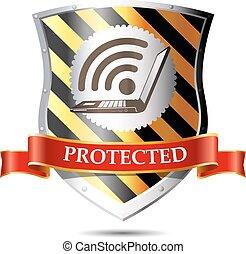 -, sicurezza, sicurezza, rete, internet