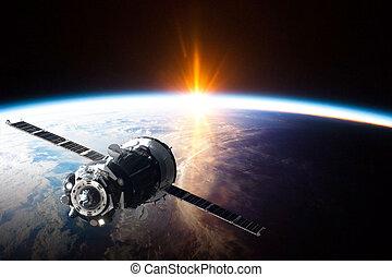 -, spazio, questo, immagine, purché, elementi, satellite, nasa