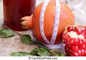 Grenadine frucht