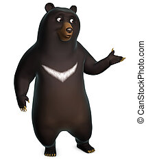 bear illustrations and clipart 97 083 bear royalty free rh canstockphoto com black and white teddy bear clipart black bear clipart free