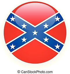 -, symbool, csa, vlag, rebel, verbonden, pictogram