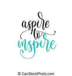 -, texto, positivo, mano, inspirar, aspirar, diseño, citas, ...