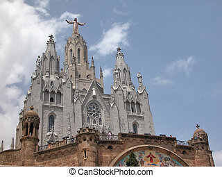 -, tibidabo, barcelona
