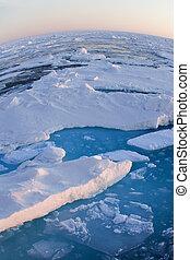 -, topo, pólo norte, mundo