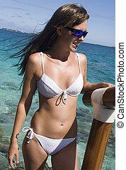 -, vacanza, polynesia francese, tropicale, tahiti