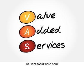 -, vas, valore, servizi, aggiunto