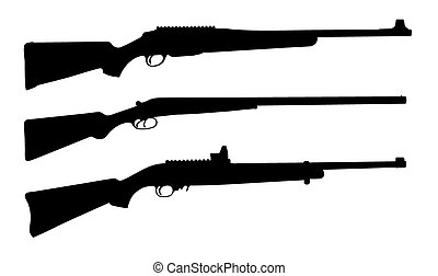 rifle stock illustrations 14 545 rifle clip art images and royalty rh canstockphoto com rifle clipart free rifle clipart images