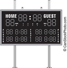 scoreboard clip art and stock illustrations 6 574 scoreboard eps rh canstockphoto com hockey scoreboard clipart soccer scoreboard clipart