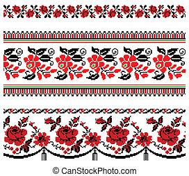 ukrainian_embroidery_floral_coll_08(16).jpg - Vector...