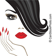 beauty illustrations and clipart 733 779 beauty royalty free rh canstockphoto com beauty clipart png beauty clip art free
