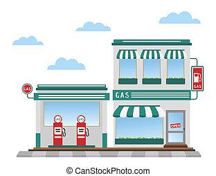 Gas station Vector Clip Art Illustrations. 18,083 Gas
