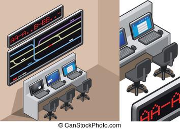 Computer Center Vector Clip Art Royalty Free 19 087 Computer Center