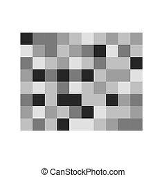 -vector, pixel, patrón, censura, ilustración