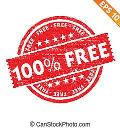 -, vektor, briefmarke, frei, sammlung, eps10, aufkleber, abbildung