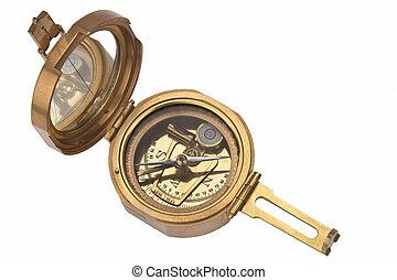 -, vrijstaand, kompas
