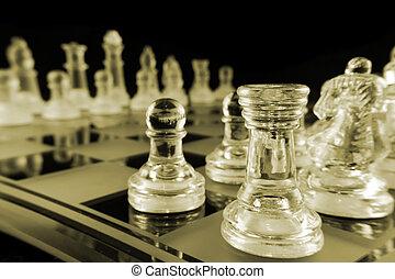 -, zaszachowany, szachy
