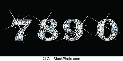 0, 7, diamant, 9, 8