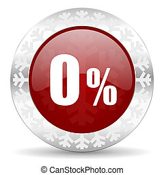 0, cento, ícone