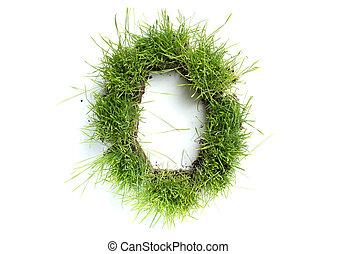 0, fait, -, nombres, herbe