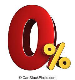 0 percent 3D.