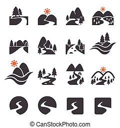 00-mass - river icon set