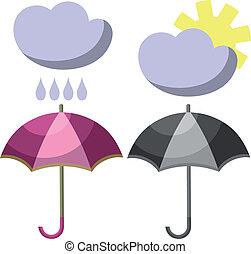 001, ensemble, parapluie