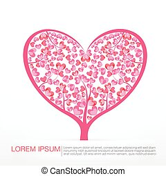 Heart tree element for valentine day and wedding card vector 003 heart tree element for valentine day and wedding card decoration vector illustration eps10 junglespirit Choice Image