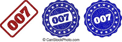 007 Scratched Stamp Seals