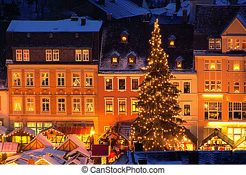 01, annaberg-buchholz, navidad, mercado