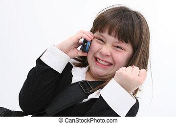 01, barn, mobiltelefon