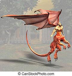 #01, dragonman