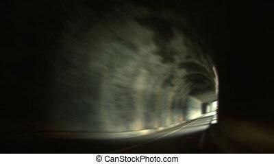 01, drogowy tunel
