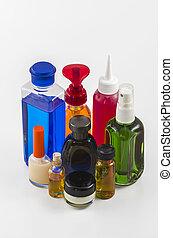 01, flasker, kosmetik