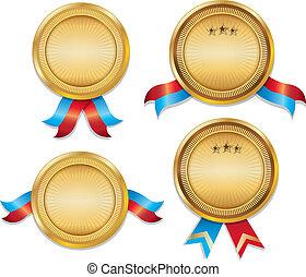 01, komplet, awarrd, medals, szablon