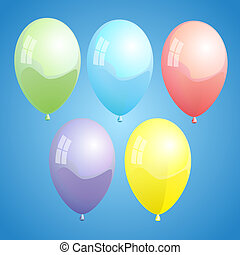 01, płetwa, ballons