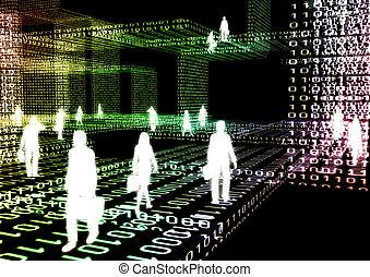 01, virtual, negócio