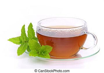 02, τσάι , μέντα