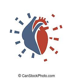 02, coração, ícone