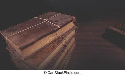 02, książka, otwarty